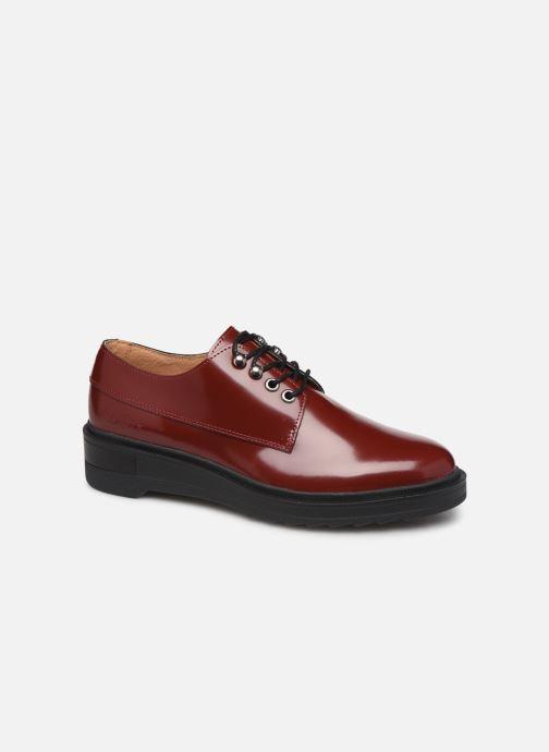 Zapatos con cordones Kickers ALDARIC Rojo vista de detalle / par