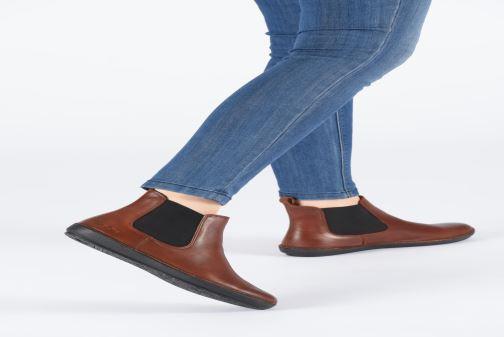 Bottines et boots Kickers FANTIN Marron vue bas / vue portée sac
