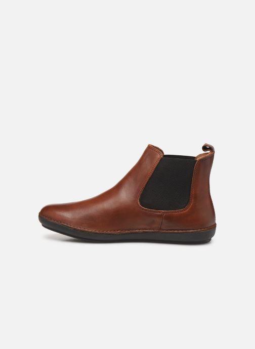Stiefeletten & Boots Kickers FANTIN braun ansicht von vorne