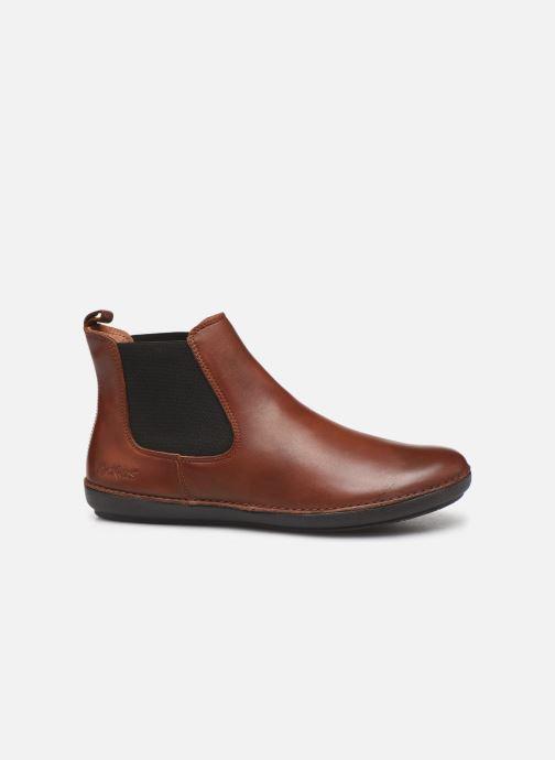 Stiefeletten & Boots Kickers FANTIN braun ansicht von hinten