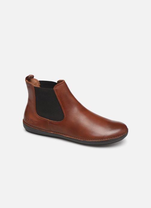 Bottines et boots Kickers FANTIN Marron vue détail/paire