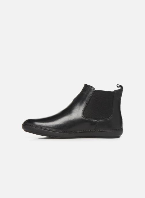 Bottines et boots Kickers FANTIN Noir vue face