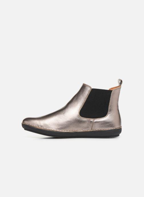 Boots en enkellaarsjes Kickers FANTIN Zilver voorkant