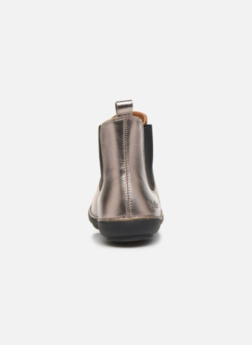 Boots en enkellaarsjes Kickers FANTIN Zilver rechts
