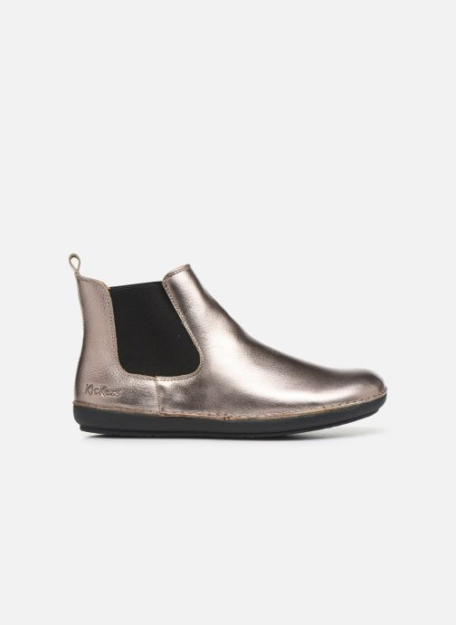 Boots en enkellaarsjes Kickers FANTIN Zilver achterkant