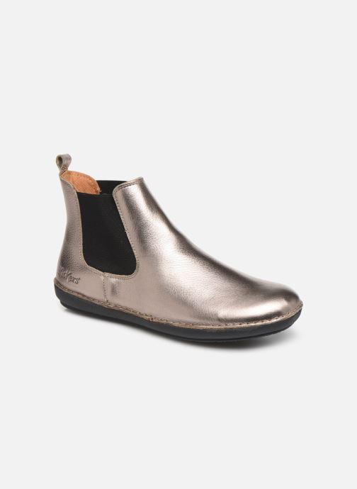 Boots en enkellaarsjes Kickers FANTIN Zilver detail