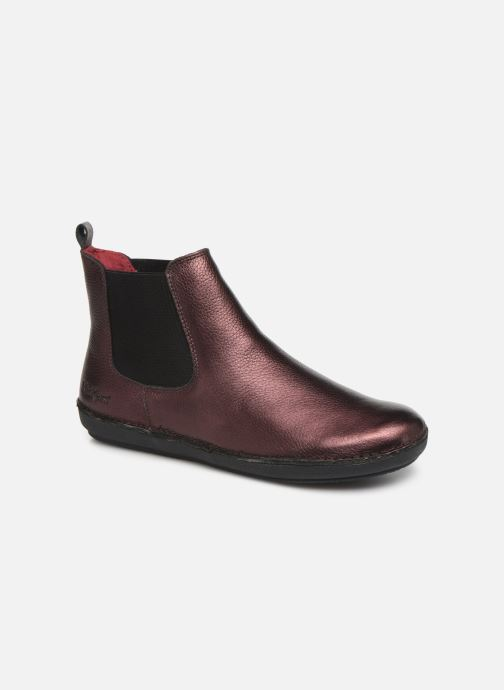 Bottines et boots Kickers FANTIN Violet vue détail/paire
