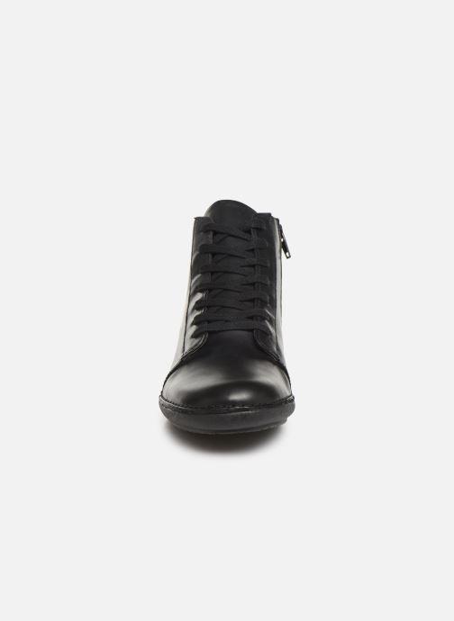 Bottines et boots Kickers FOWTOW Noir vue portées chaussures