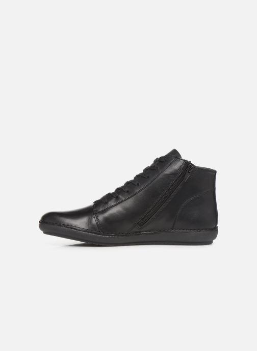 Bottines et boots Kickers FOWTOW Noir vue face