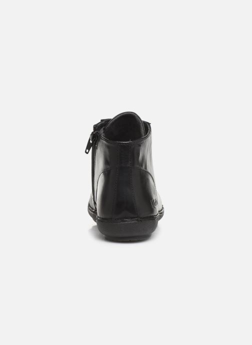 Stiefeletten & Boots Kickers FOWTOW schwarz ansicht von rechts
