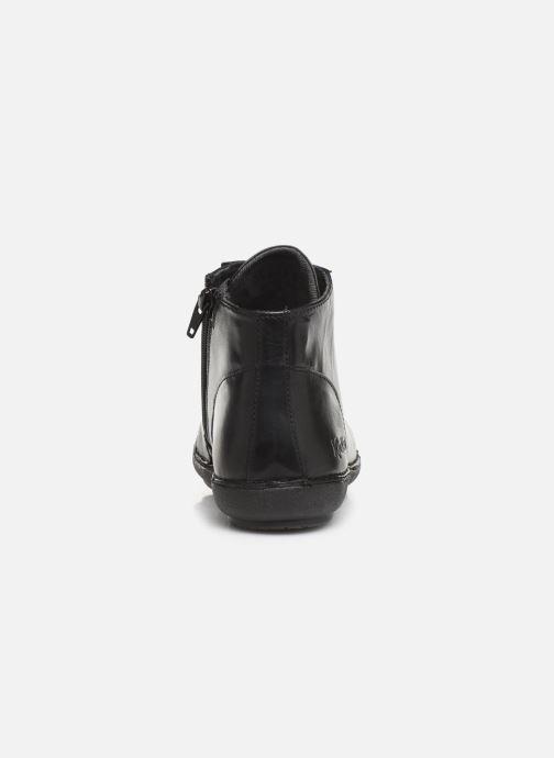 Bottines et boots Kickers FOWTOW Noir vue droite