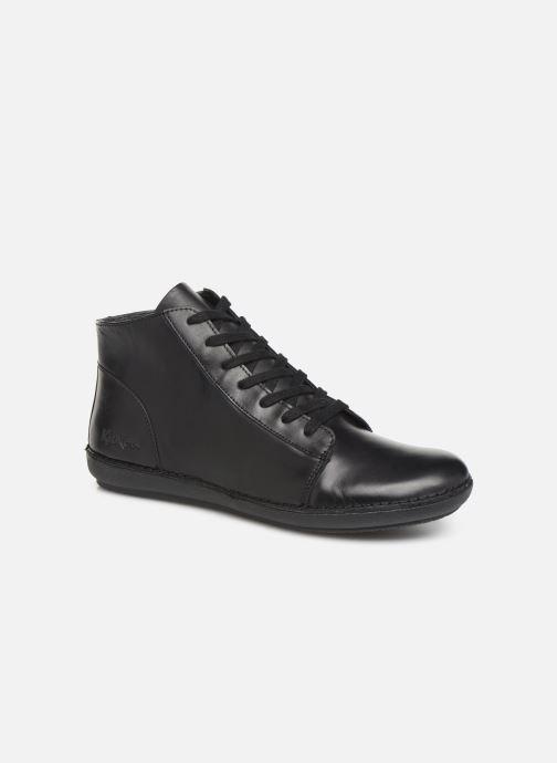 Bottines et boots Kickers FOWTOW Noir vue détail/paire
