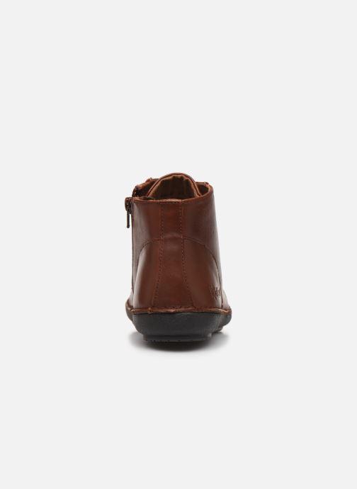 Bottines et boots Kickers FOWTOW Marron vue droite