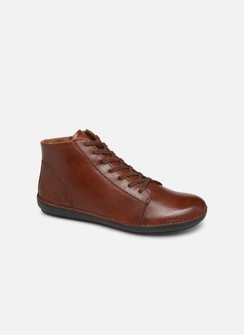 Bottines et boots Kickers FOWTOW Marron vue détail/paire