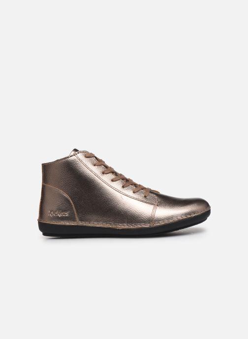 Bottines et boots Kickers FOWTOW Or et bronze vue derrière