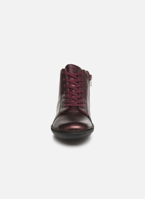 Bottines et boots Kickers FOWTOW Bordeaux vue portées chaussures