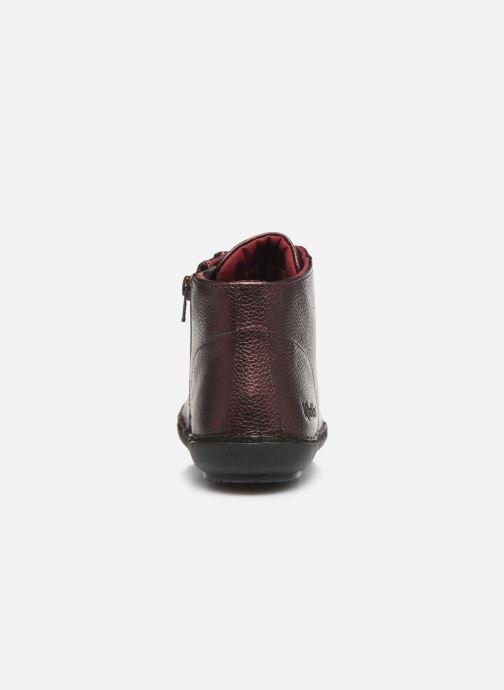 Bottines et boots Kickers FOWTOW Bordeaux vue droite