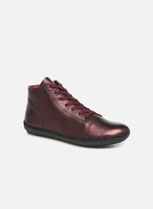 Bottines et boots Kickers FOWTOW Bordeaux vue détail/paire