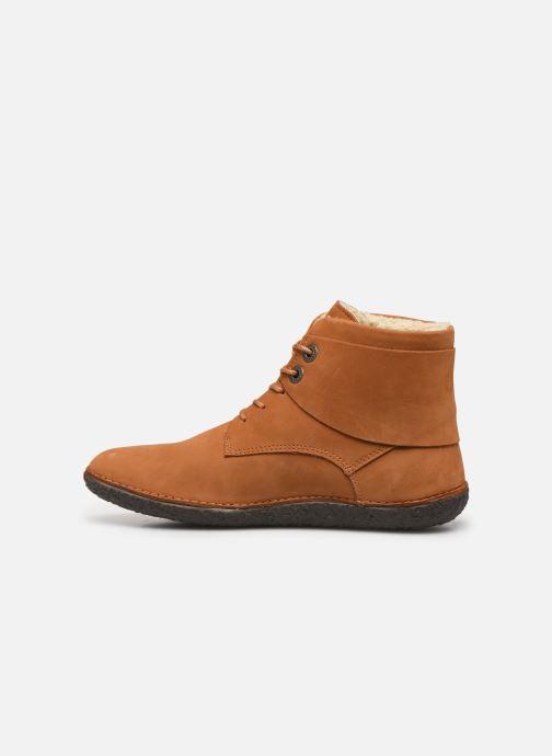 Boots en enkellaarsjes Kickers HOBBYTWO Bruin voorkant