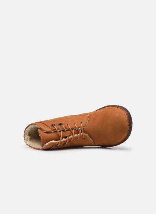 Boots en enkellaarsjes Kickers HOBBYTWO Bruin links