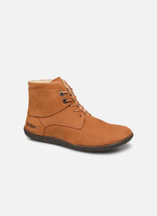Boots en enkellaarsjes Kickers HOBBYTWO Bruin detail
