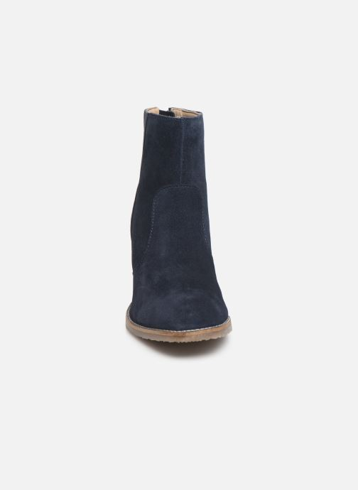 Bottines et boots Kickers MAGRITT Bleu vue portées chaussures