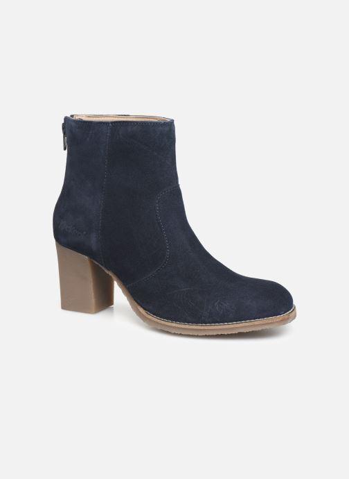 Bottines et boots Kickers MAGRITT Bleu vue détail/paire