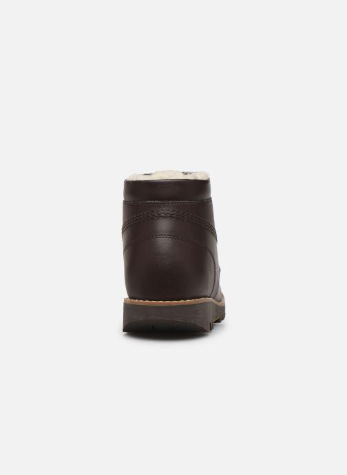 Kickers NEORAIN (Marron) Bottines et boots chez Sarenza
