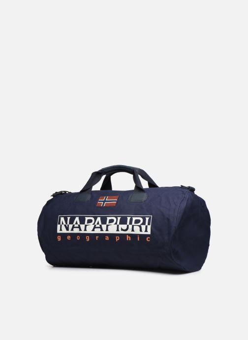 Bolsas de deporte Napapijri Bering EL Azul vista del modelo