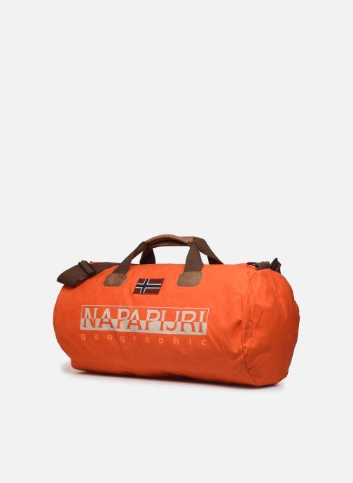 Sacs de sport Napapijri Bering EL Orange vue portées chaussures