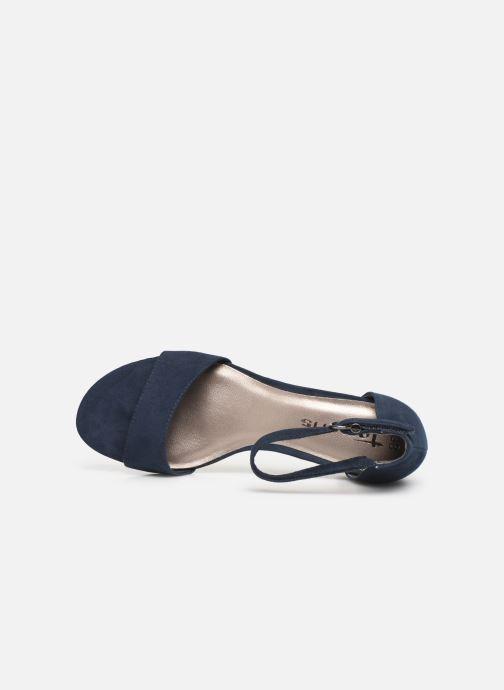 Sandales et nu-pieds Tamaris 28131-20 Bleu vue gauche