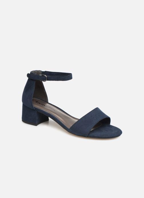 Sandales et nu-pieds Tamaris 28131-20 Bleu vue détail/paire