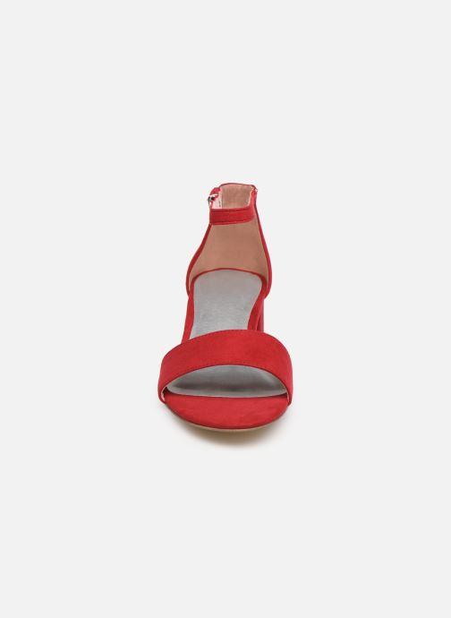 Sandales et nu-pieds Tamaris 28131-20 Rouge vue portées chaussures