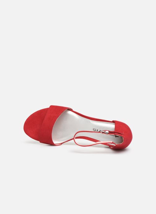 Sandalias Tamaris 28131-20 Rojo vista lateral izquierda