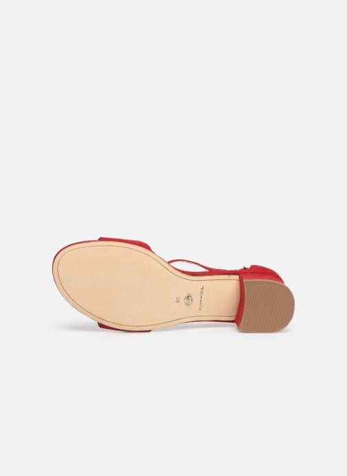 Sandales et nu-pieds Tamaris 28131-20 Rouge vue haut