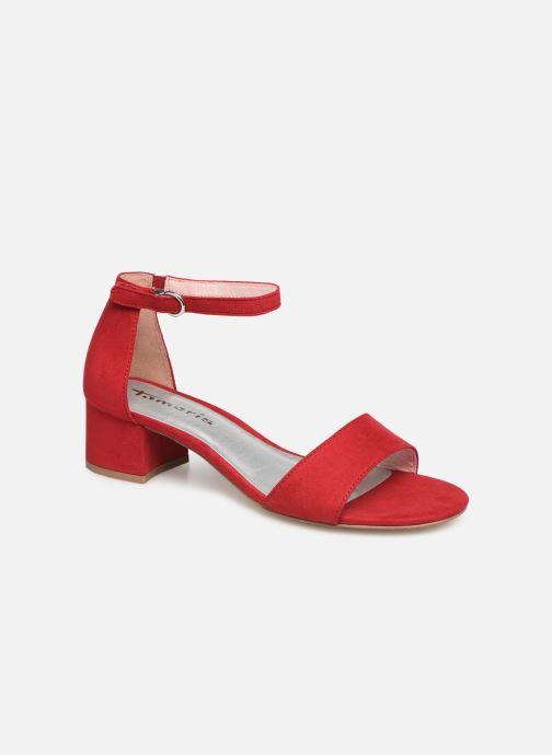 Sandales et nu-pieds Tamaris 28131-20 Rouge vue détail/paire