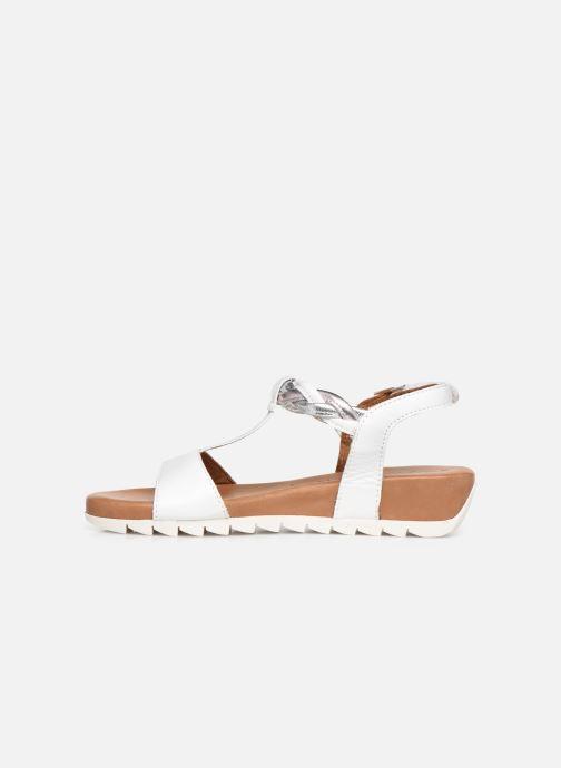 Sandals Tamaris 28709-22 White front view