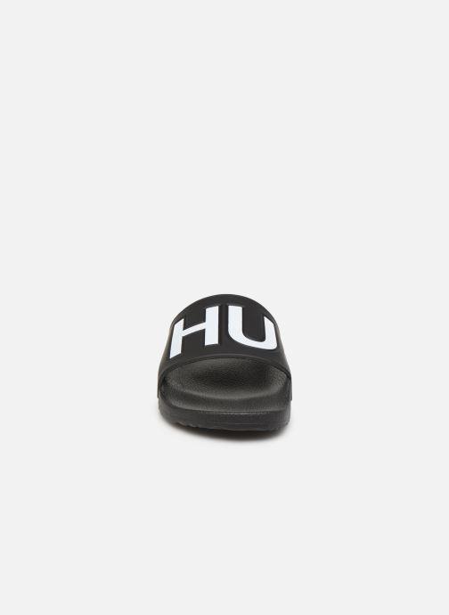 Sandales et nu-pieds Hugo Timeout_Slip_rblg Noir vue portées chaussures