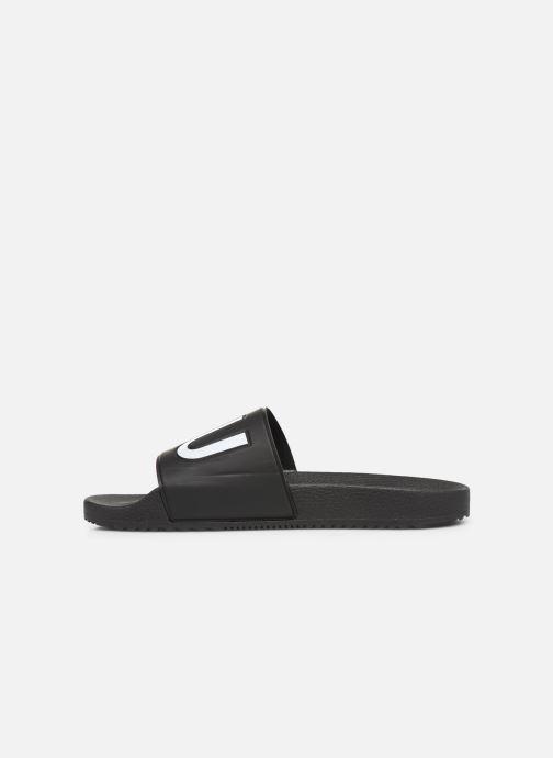 Sandales et nu-pieds Hugo Timeout_Slip_rblg Noir vue face