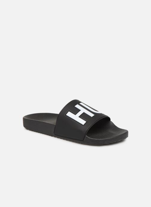 Sandales et nu-pieds Hugo Timeout_Slip_rblg Noir vue détail/paire