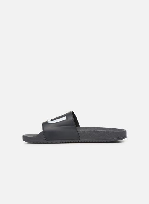 Sandales et nu-pieds Hugo Timeout_Slip_rblg Gris vue face