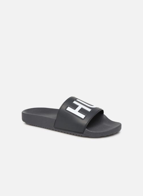 Sandales et nu-pieds Hugo Timeout_Slip_rblg Gris vue détail/paire
