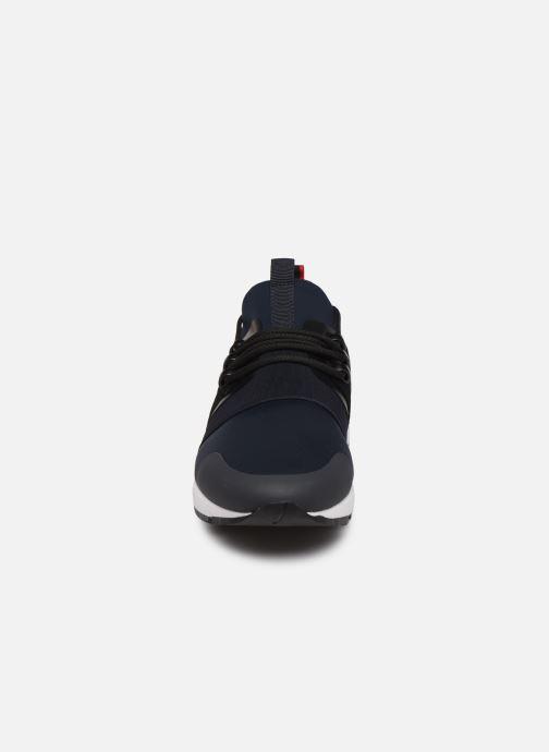 Baskets Hugo Hybrid_Runn_mxsc1 Bleu vue portées chaussures