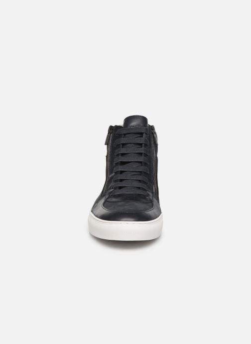 Baskets Hugo Futurism_Hito_nuzp Bleu vue portées chaussures