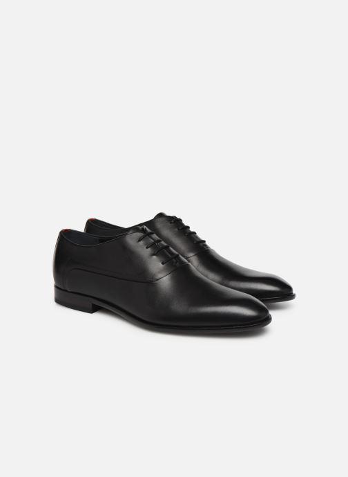 Chaussures à lacets Hugo Appeal_Oxfr_bu Noir vue 3/4