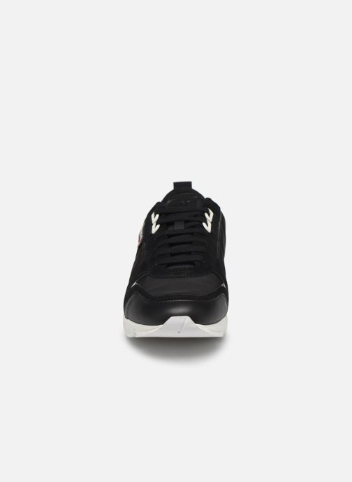 Baskets Hugo Hybrid_Runn_nylt Noir vue portées chaussures