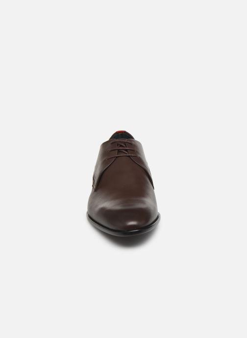 Chaussures à lacets Hugo Appeal_Derb_lt1 Marron vue portées chaussures