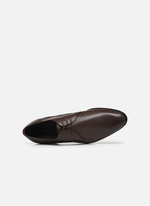 Chaussures à lacets Hugo Appeal_Derb_lt1 Marron vue gauche