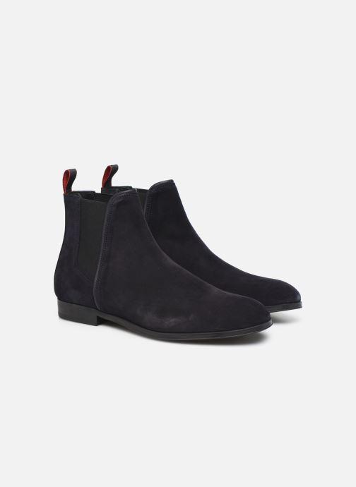 Bottines et boots Hugo Boheme_Cheb_sd Bleu vue 3/4