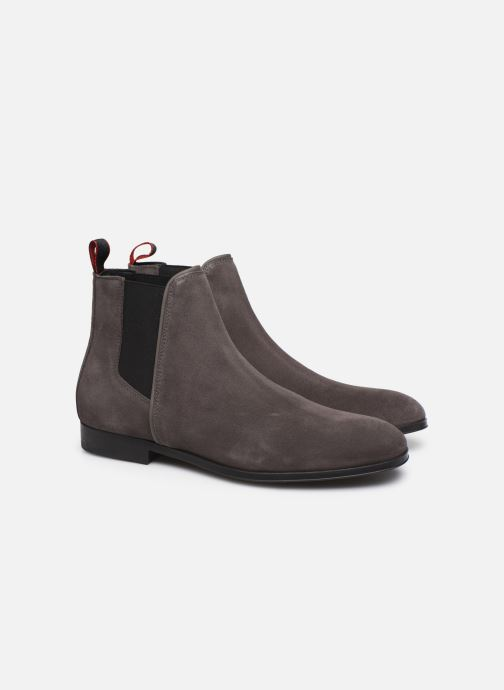Bottines et boots Hugo Boheme_Cheb_sd Gris vue 3/4